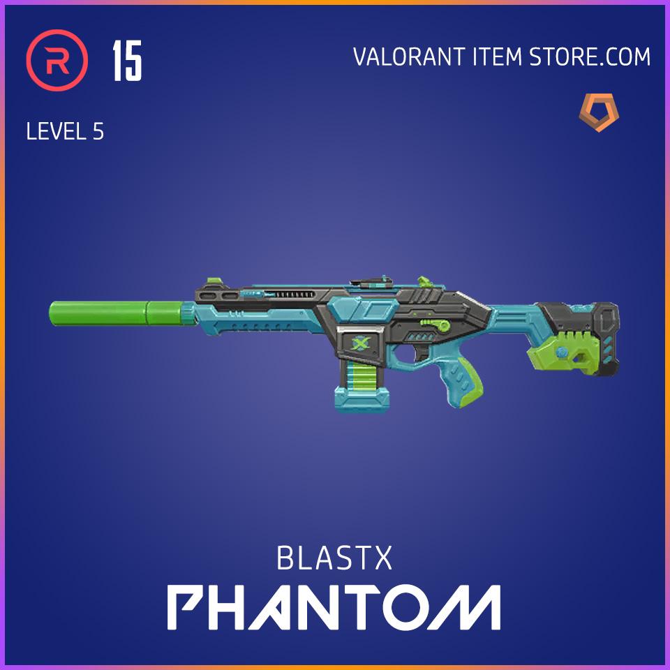 BlastX Phantom Level 5 Valorant Skin