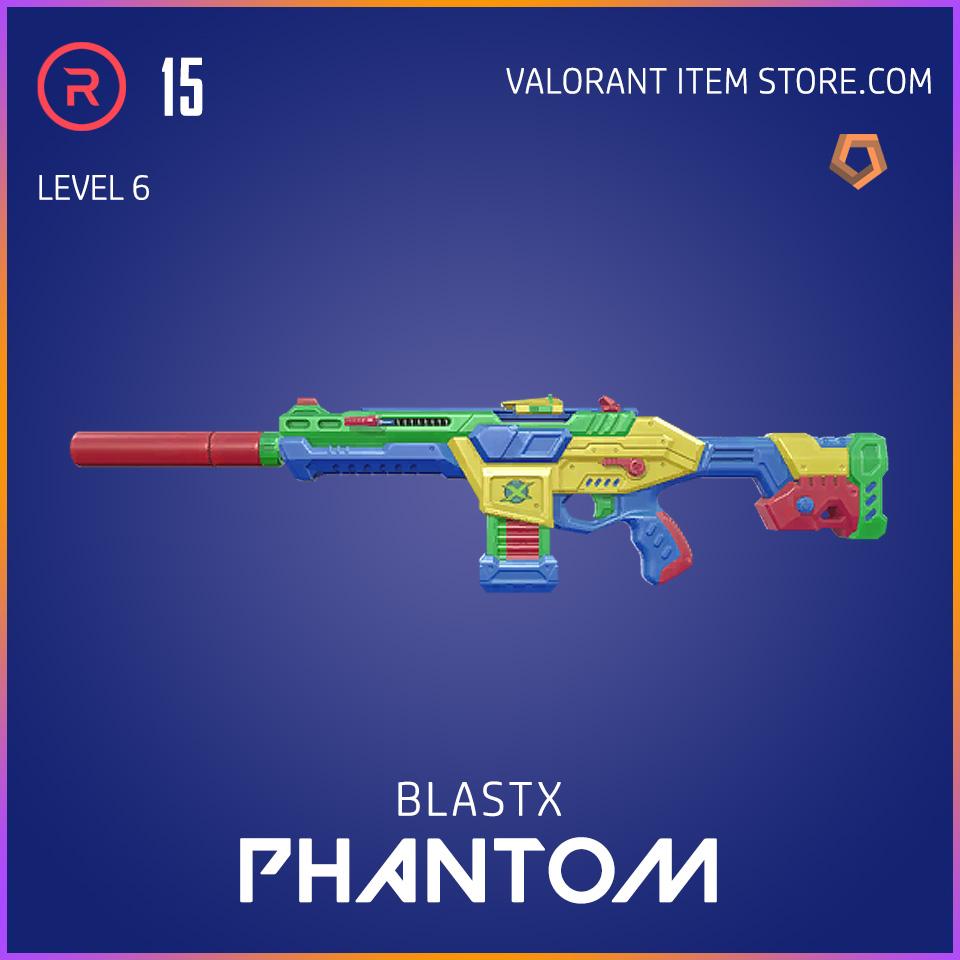 BlastX Phantom Level 6 Valorant Skin