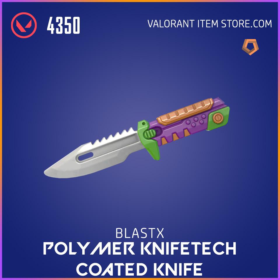 BlastX Polymer Knifetech Coated Knife Valorant Skin