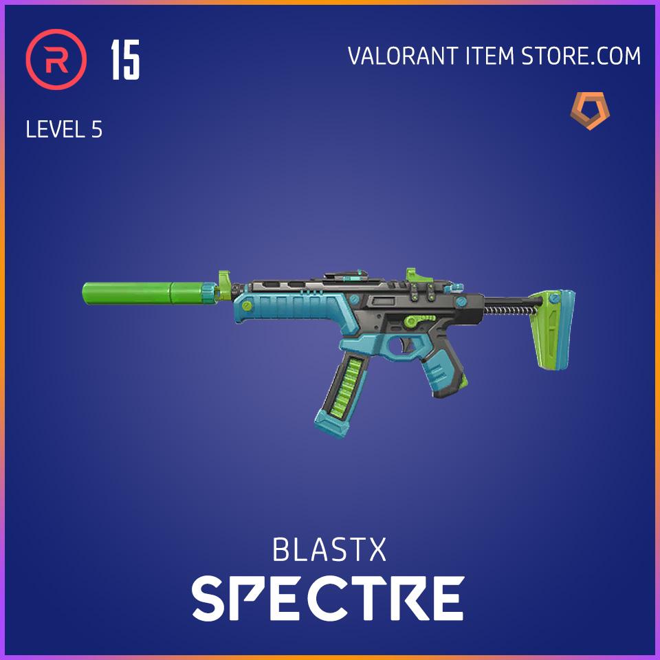 BlastX Spectre Level 5 Valorant Skin