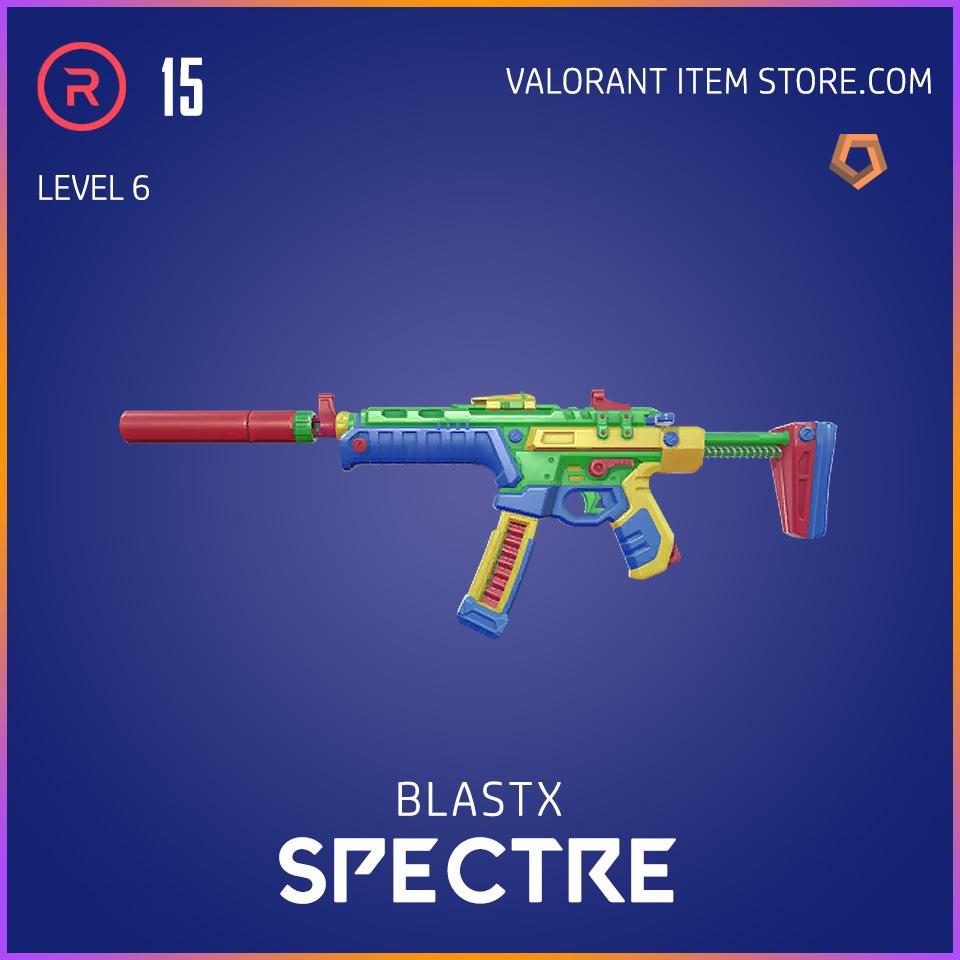 BlastX Spectre Level 6 Valorant Skin