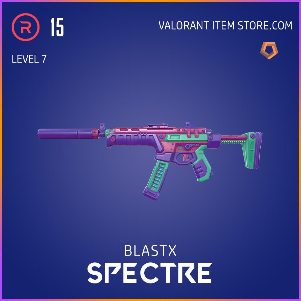 BlastX Spectre Level 7 Valorant Skin