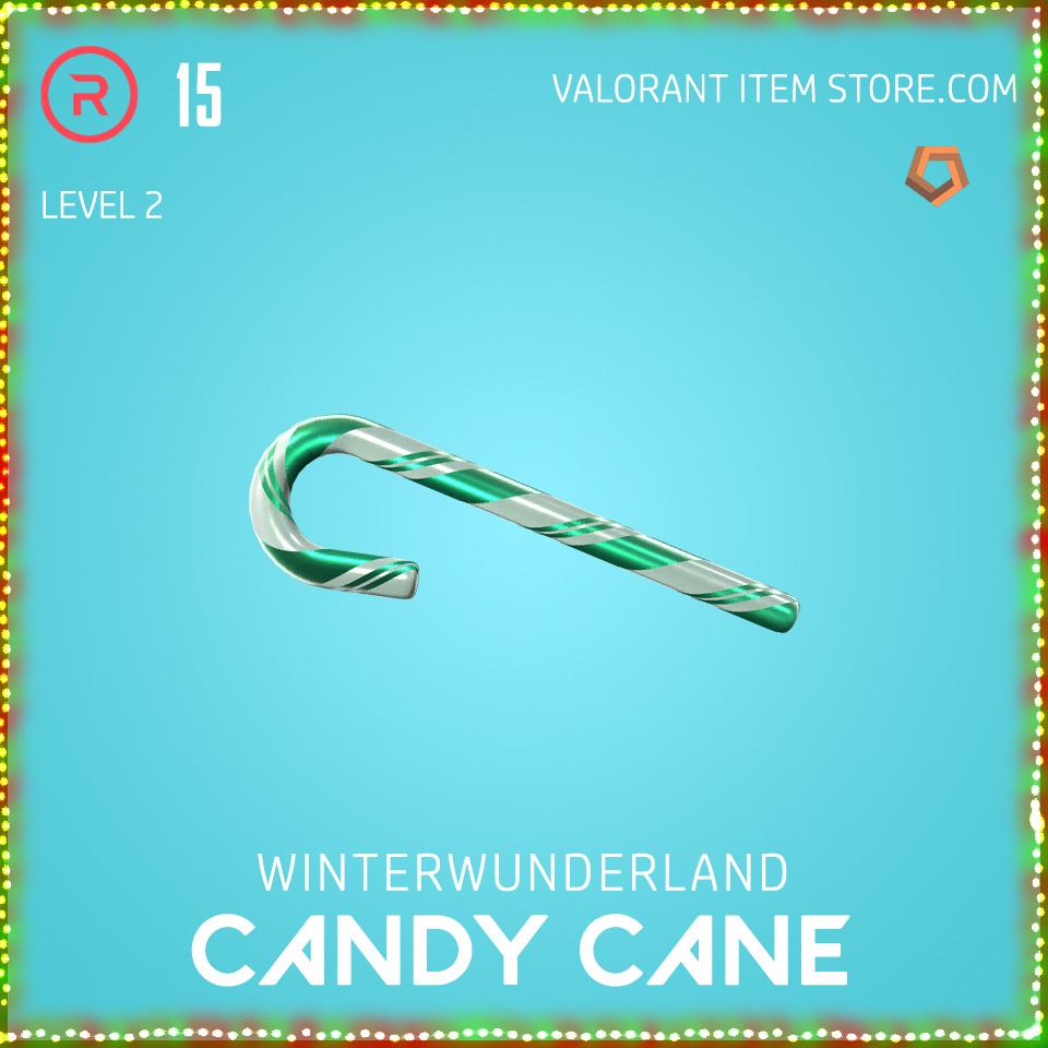 Winterwunderland Candy Cane Level 2 Valorant Skin Bundle
