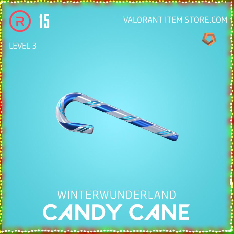 Winterwunderland Candy Cane Level 3 Valorant Skin Bundle