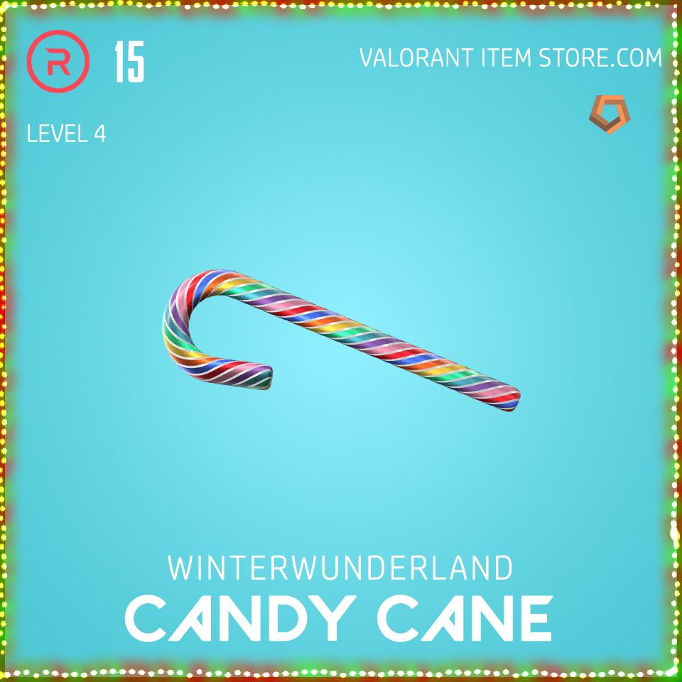 Winterwunderland Candy Cane Level 4 Valorant Skin Bundle