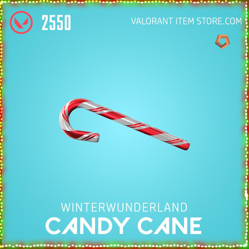 Winterwunderland Candy Cane Valorant Skin Bundle