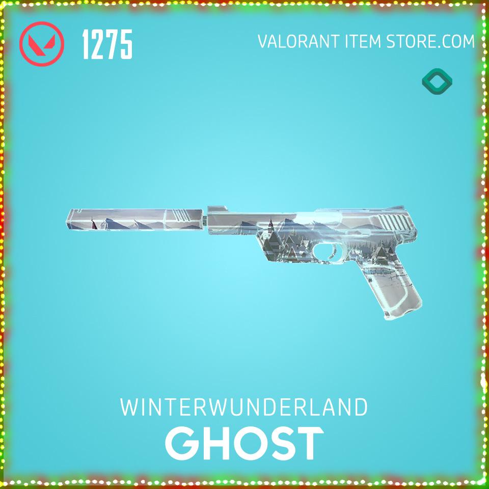 Winterwunderland Ghost Valorant Skin