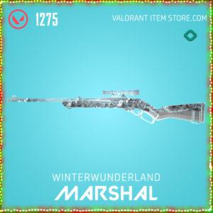 Winterwunderland Marshal Valorant Skin