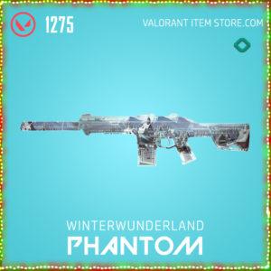 Winterwunderland Phantom Valorant Skin
