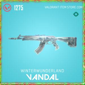 Winterwunderland Vandal Valorant Skin