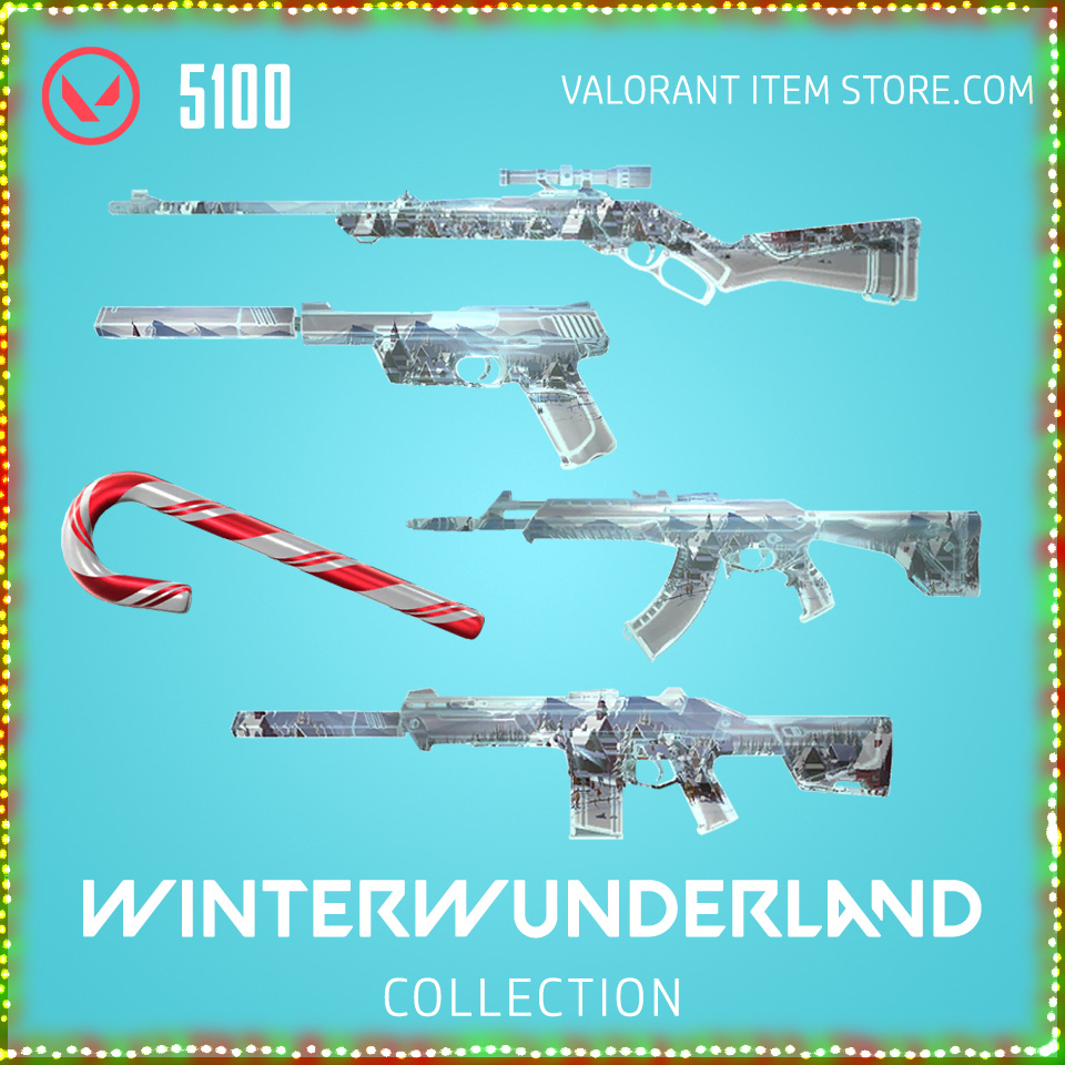 winterwunderland collection bundle valorant