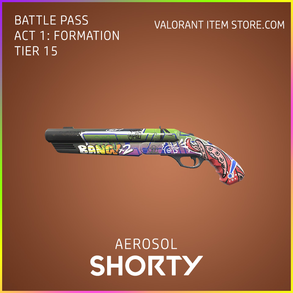 aerosol shorty valorant skin battle pass