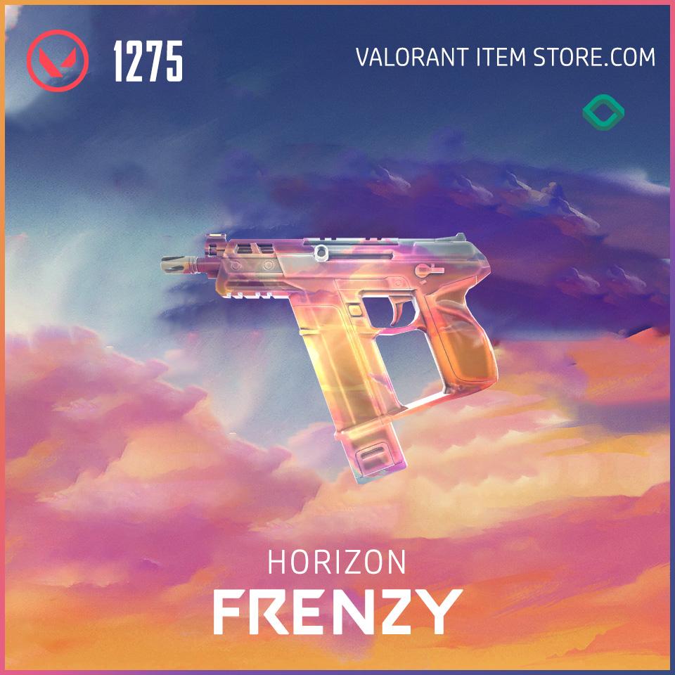 Horizon Frenzy Valorant Skin
