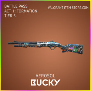 aerosol bucky valorant skin battle pass