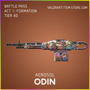 aerosol odin valorant skin battle pass
