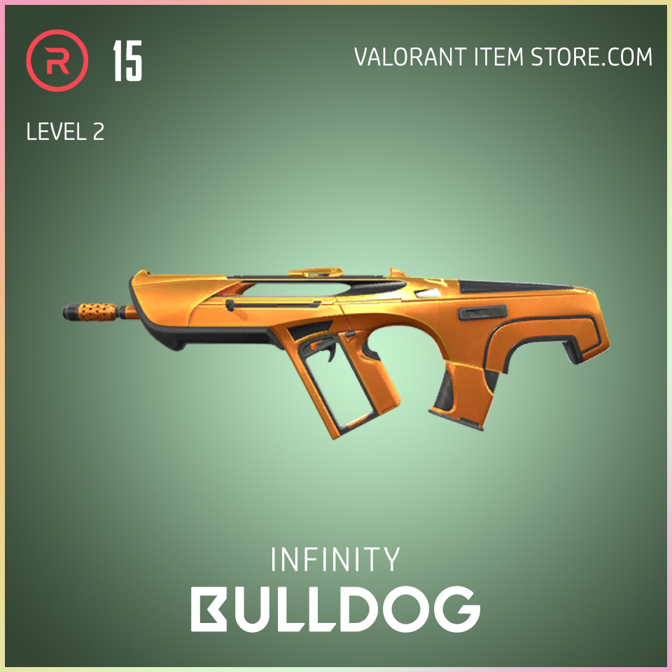 Infinity Bulldog Valorant Skin Battle Pass Variant 2