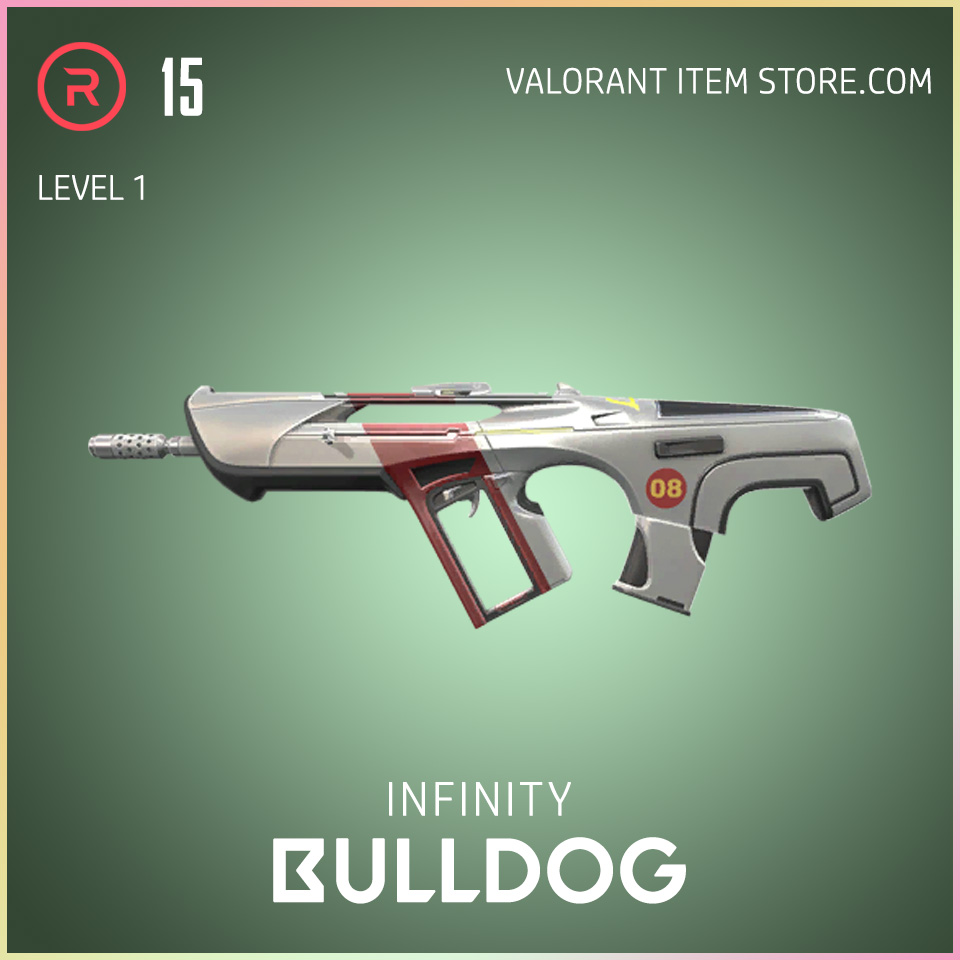 Infinity Bulldog Valorant Skin Battle Pass variant 1