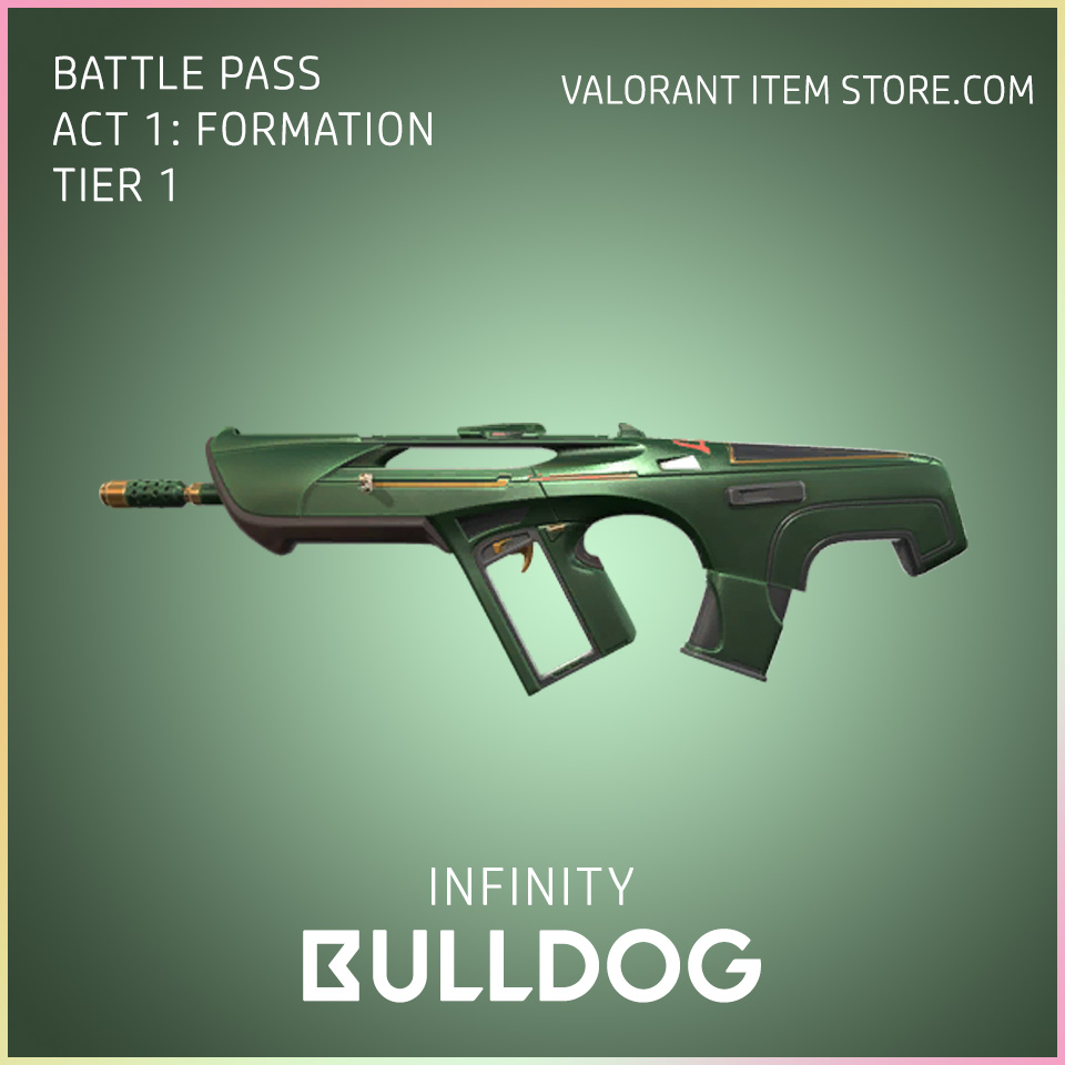 Infinity Bulldog Valorant Skin Battle Pass