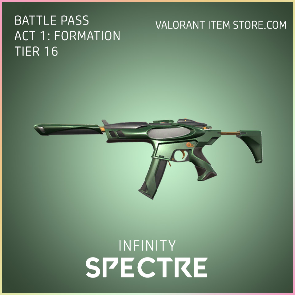 Infinity Spectre Valorant Skin battle pass