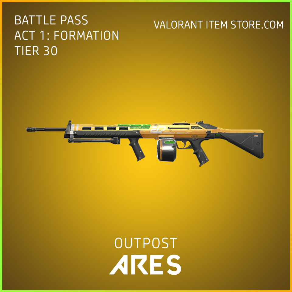outpost ares valorant skin battle pass