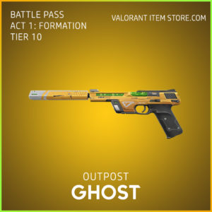 outpost ghost valorant skin battle pass