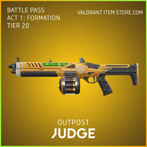 outpost judge valorant skin battle pass