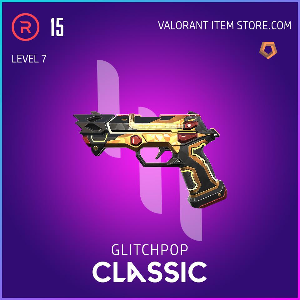 Glitchpop Ep 2 Classic Valorant Skin Lvl 7