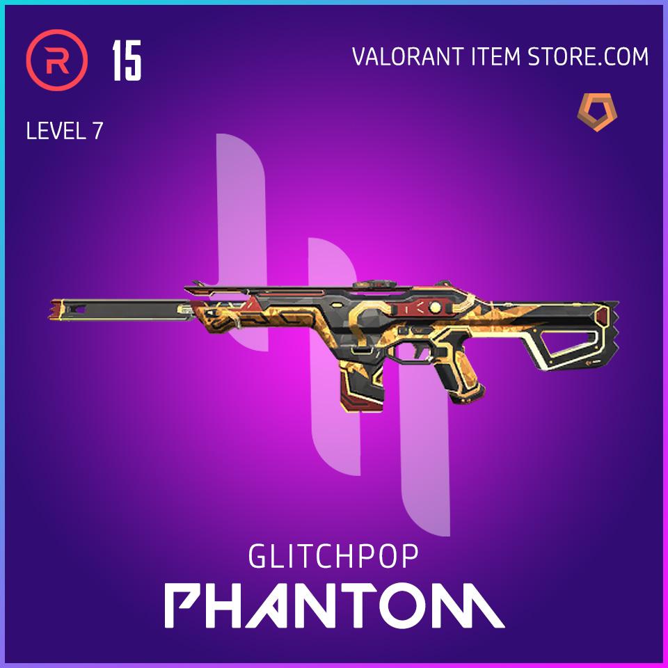 Glitchpop Ep 2 Phantom Valorant Skin Lvl 7