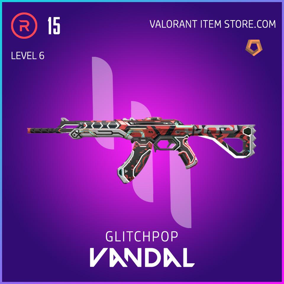 Glitchpop Ep 2 Vandal Valorant Skin Lvl 6