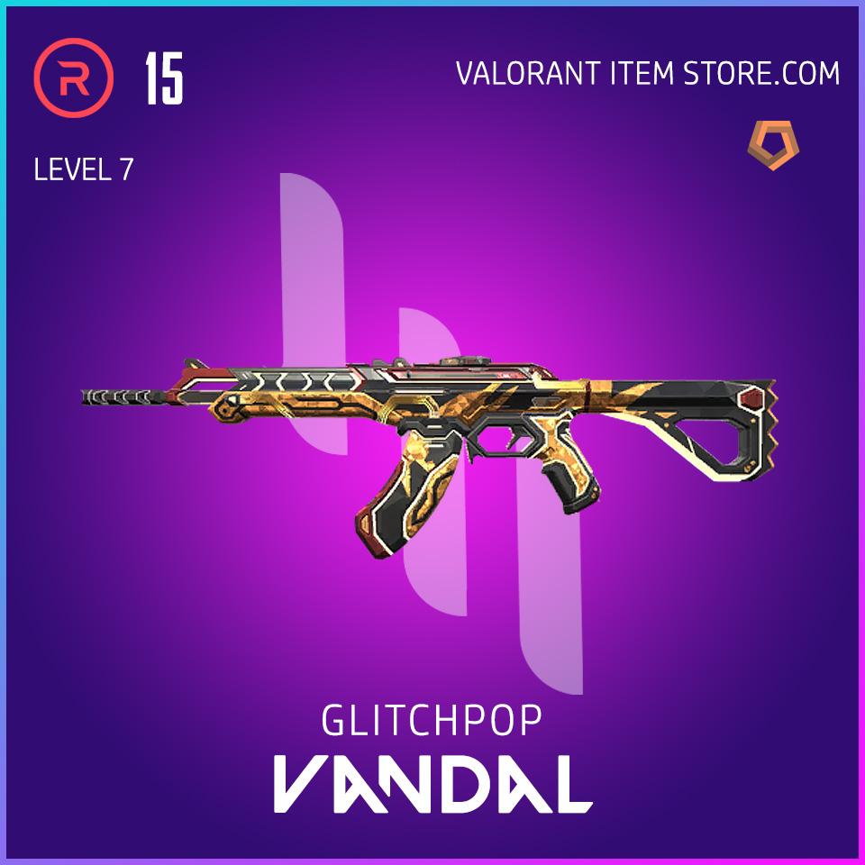 Glitchpop Ep 2 Vandal Valorant Skin Lvl 7