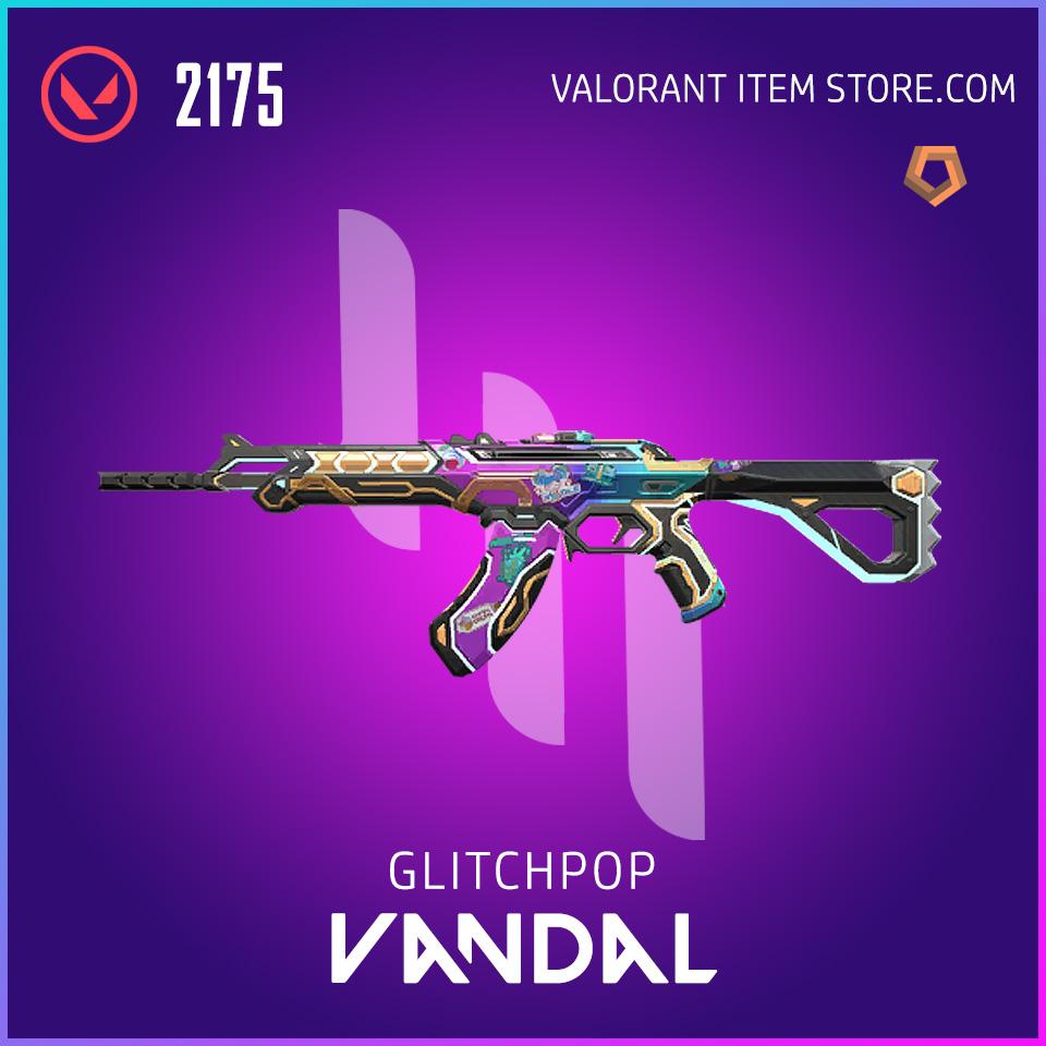 Glitchpop Ep 2 Vandal Valorant Skin