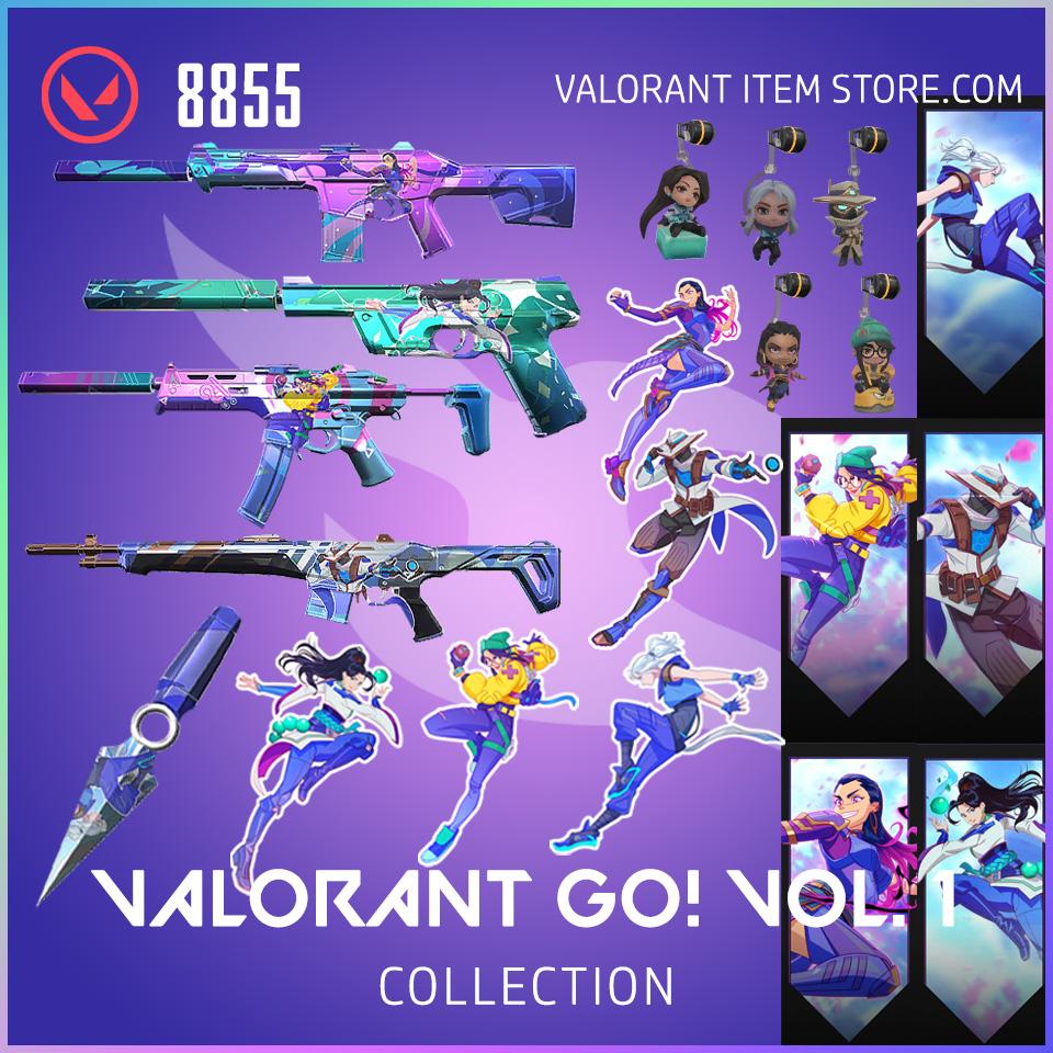 valorant go volume 1 collection bundle anime