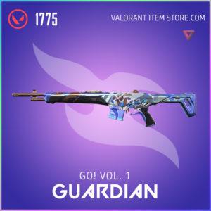 go! Volume 1 guardian valorant anime skin