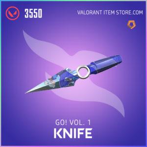 go! Volume 1 knife valorant anime skin