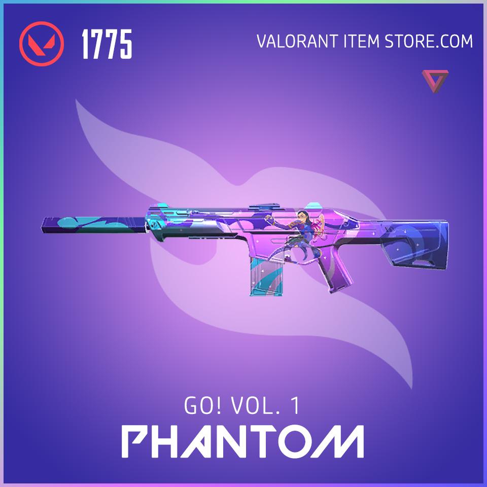 go! Volume 1 phantom valorant anime skin