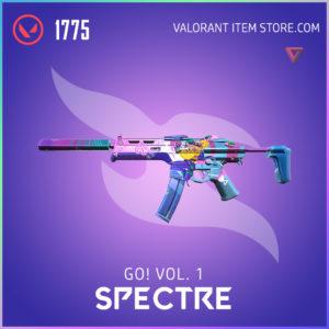 go! Volume 1 spectre valorant anime skin