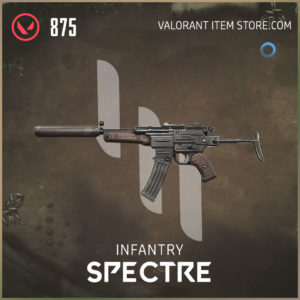infantry spectre valroant skin
