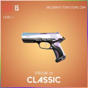Prism 3 III classic valorant skin battle pass variant 1