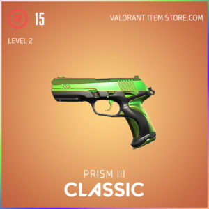 Prism 3 III classic valorant skin battle pass variant 2