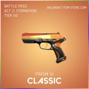 Prism 3 III classic valorant skin battle pass
