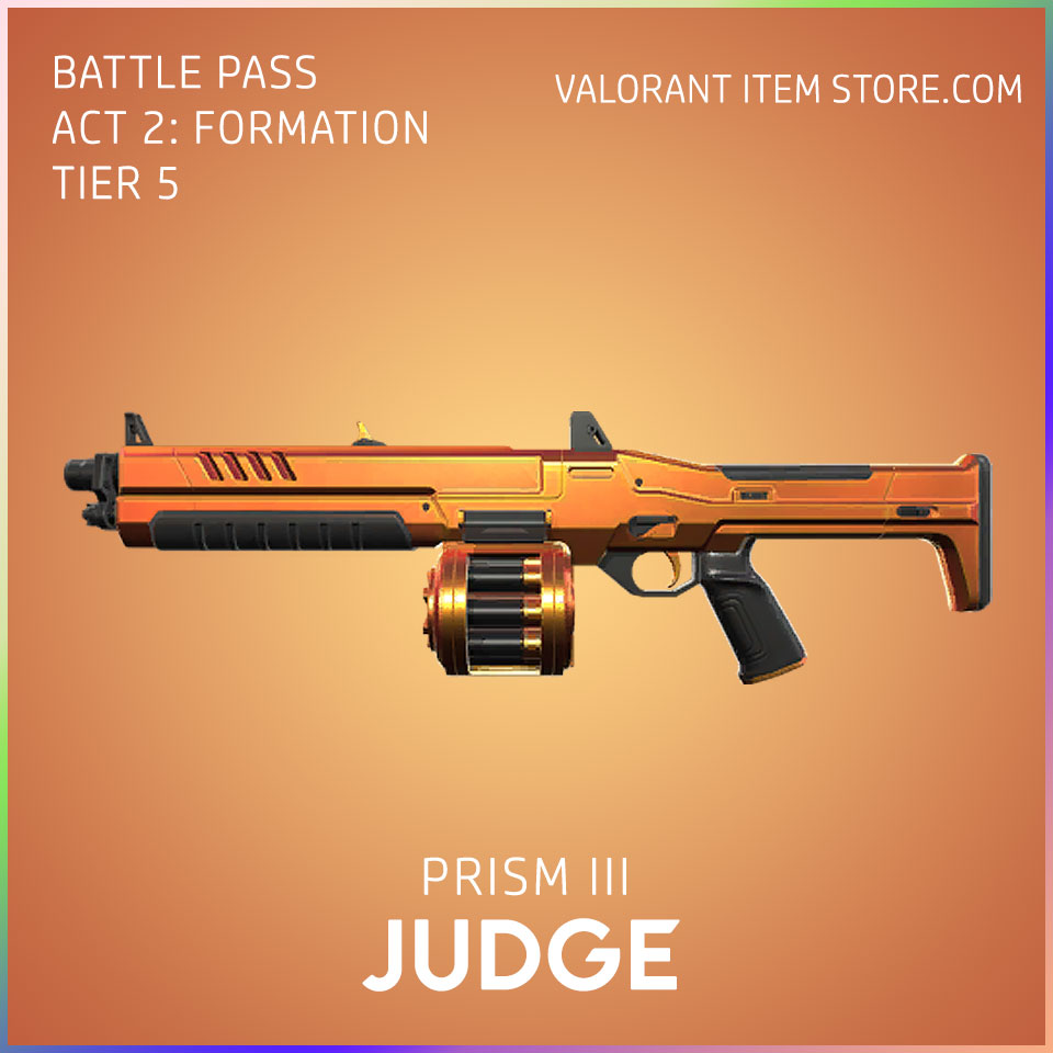 Prism 3 III judge valorant skin battle pass