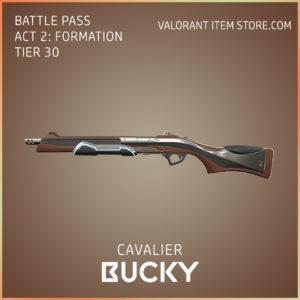 cavalier bucky valorant skin battle pass