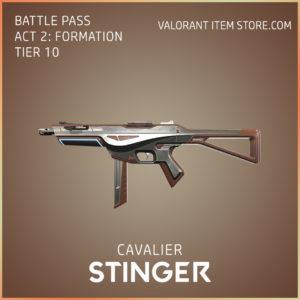 cavalier stinger valorant skin battle pass