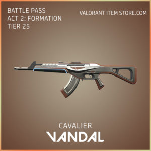 cavalier vandal valorant skin battle pass