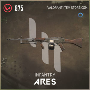 infantry ares valroant skin