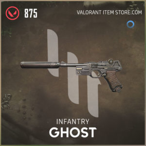 infantry ghost valorant skin
