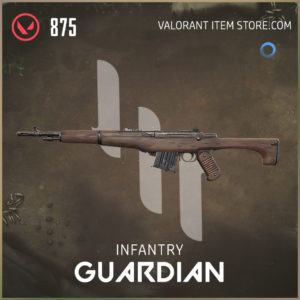 infantry guardian valorant skin
