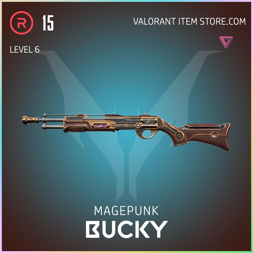 Magepunk Bucky Valroant Skin 6
