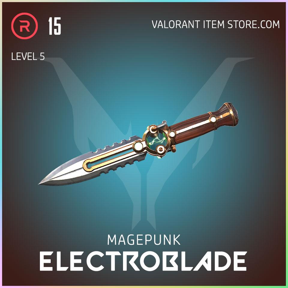 Magepunk Electroblade valorant skin 5