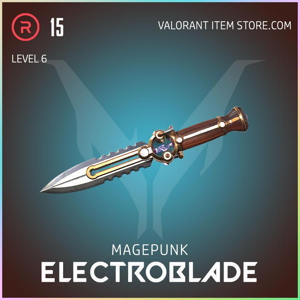 Magepunk Electroblade valorant skin 6